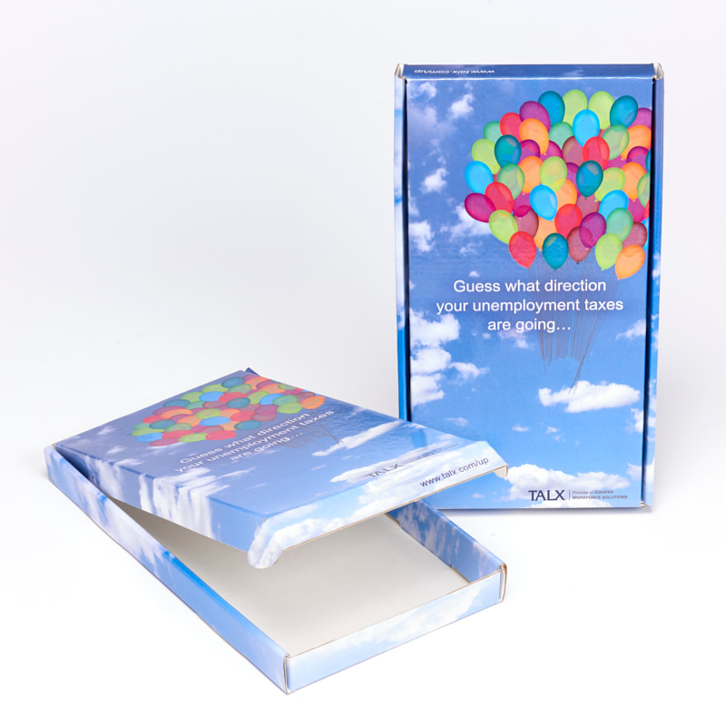 Sneller Creative Promotions - Creative Packaging Box Mailers