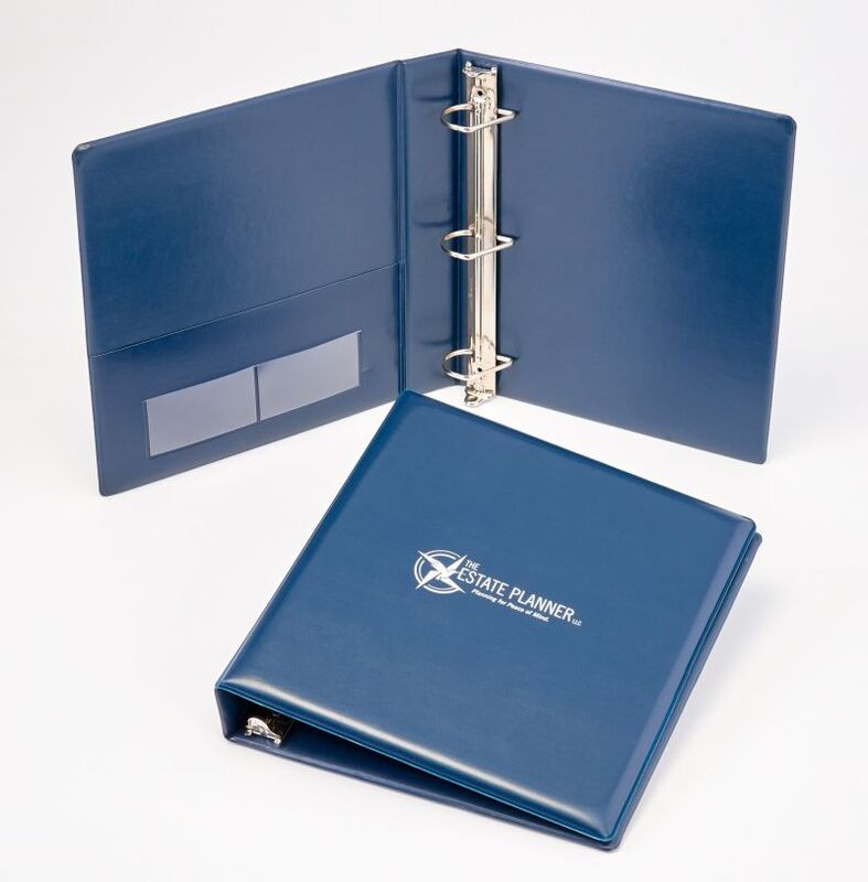 Sneller Creative Promotions - Legal Binders, Financial Planning Marketing Materials