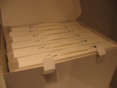 Custom Tote Boxes, Filing Boxes, Storage Boxes, Made To Order in USA by Sneller