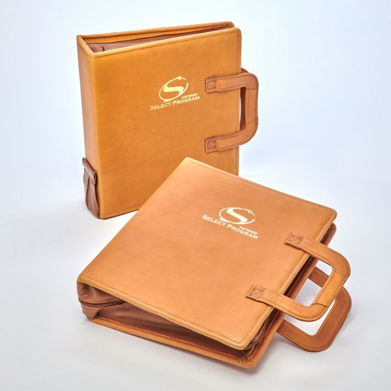 Sneller Creative Promotions - Custom Binders with Zippers, Handles, Leather and more!