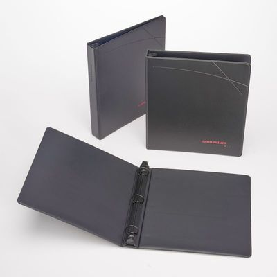 Sneller Creative Promotions - Custom Faux Leather Ring Binder Promo Packaging