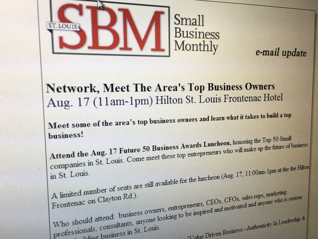 Sneller Creative Awarded Small Business Monthly Future 50 Award 2016
