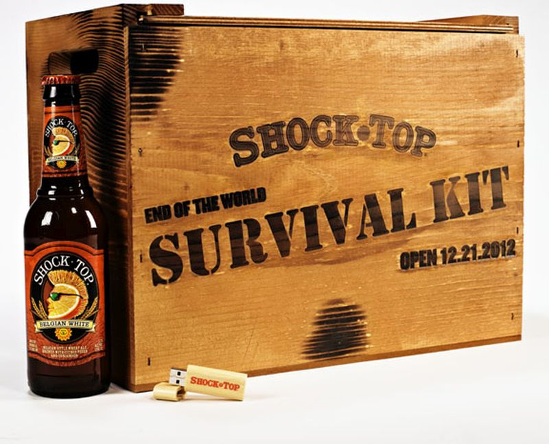 Sneller Creative Promotions - End Of The World!  Custom Wood Packaging