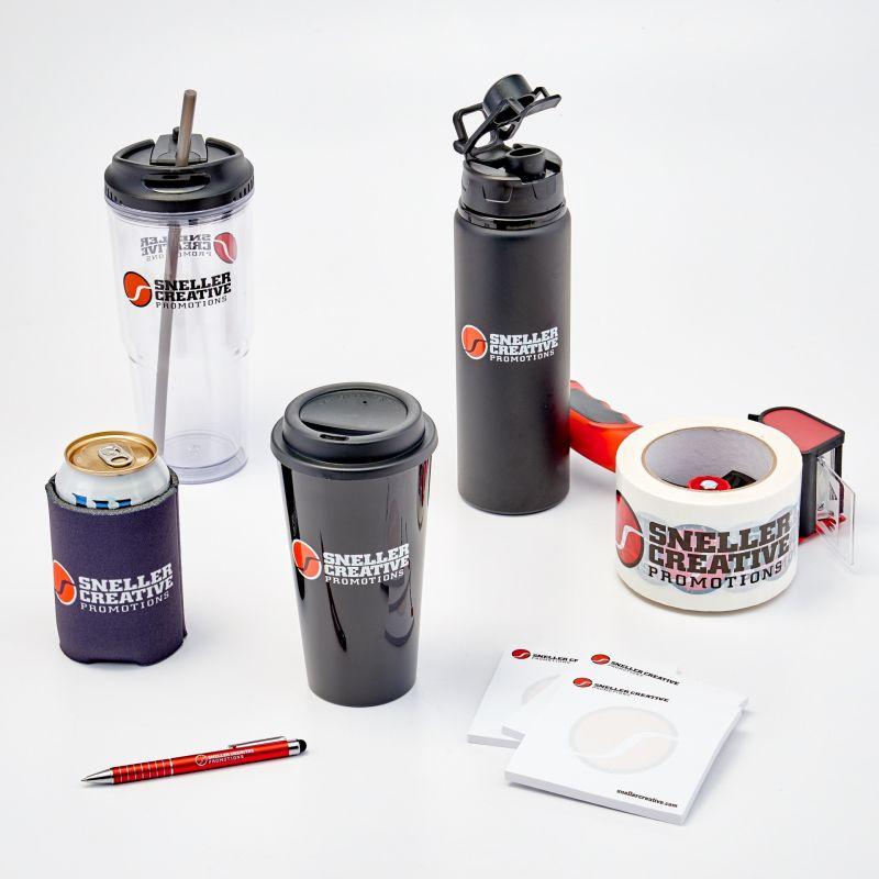 Sneller Creative Promotions - Work From Home Kits, Logo Products