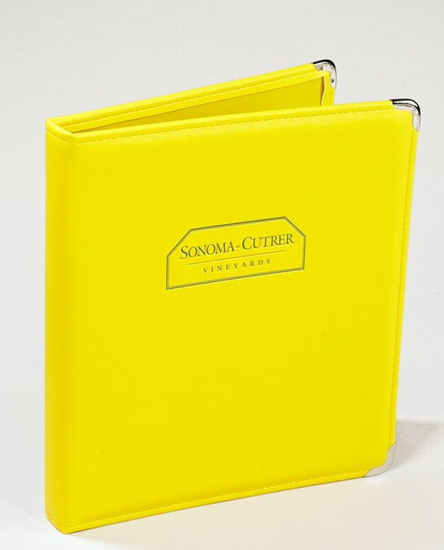 Sneller Creative Promotions - Leather-Like Ring Binders, Creative Marketing Materials
