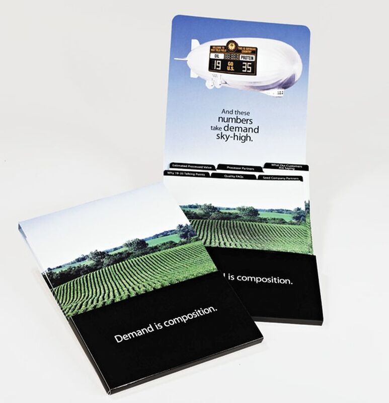 Sneller Creative Promotions - Custom Matchbook Style Folder & Printing