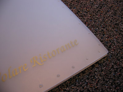 Unique Menu Covers Hospitality Packaging Products by Sneller