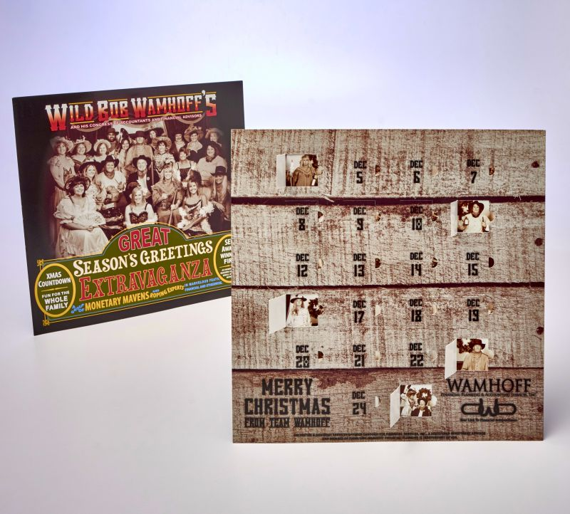 Sneller Creative Promotions - Custom Advent Calendar, Unique Printing
